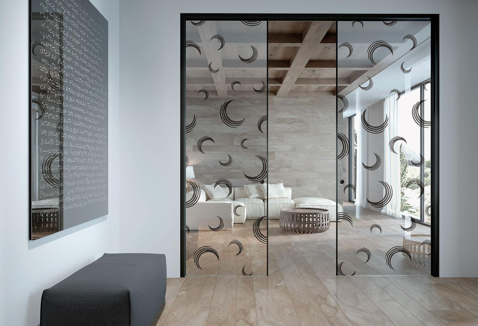 Porte A Vetro Design.Porte Scorrevoli In Vetro Il Design Tuttovetro Henry Glass
