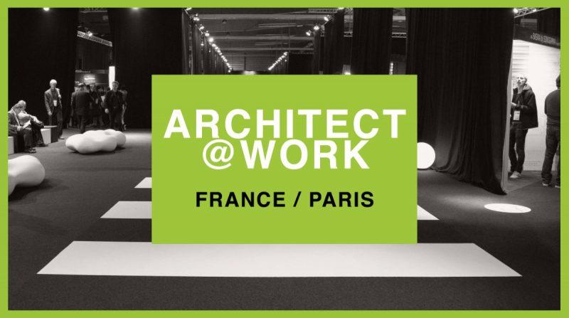 Project realized at Architect@work Paris fair