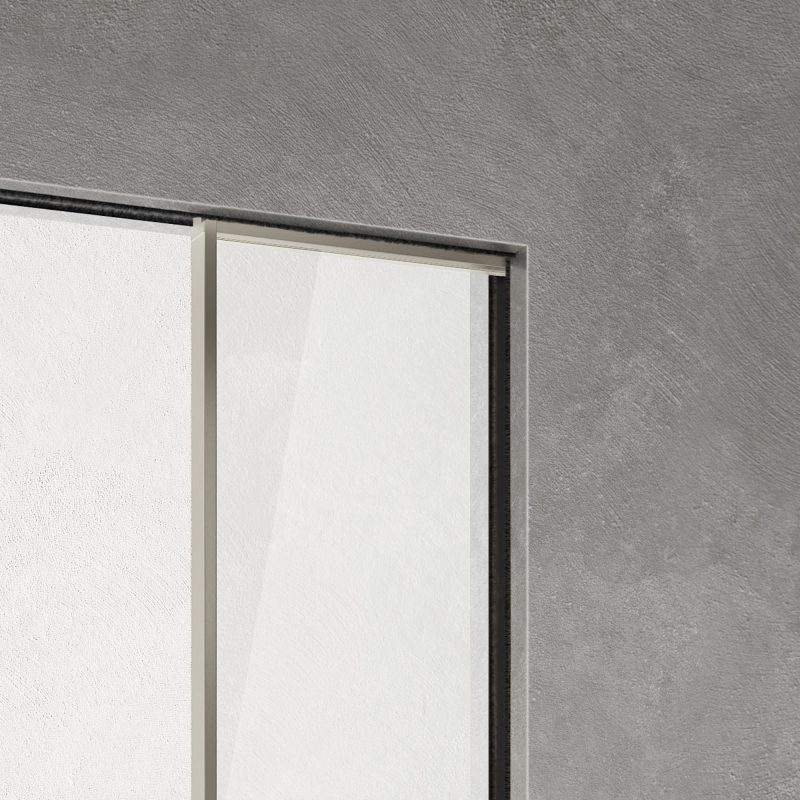 Manhattan disappearing sliding door Without Frame