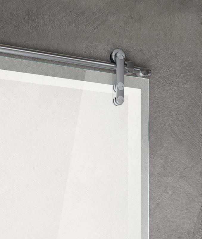 Vitra external wall sliding door Vision system
