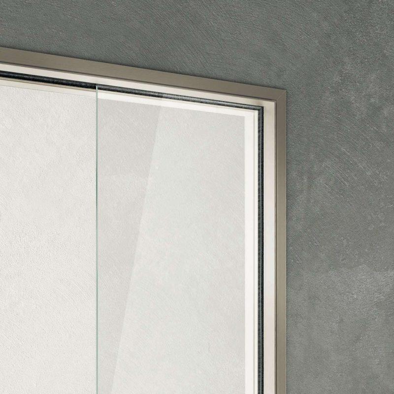 Vitra disappearing sliding door S-Light frame