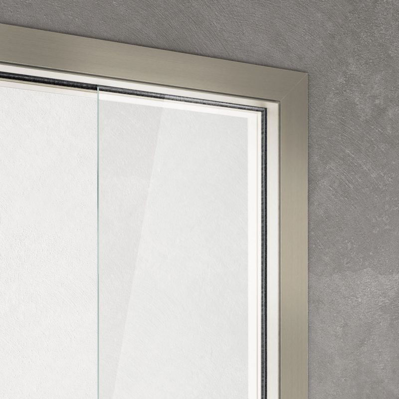 Vitra disappearing sliding door Light frame