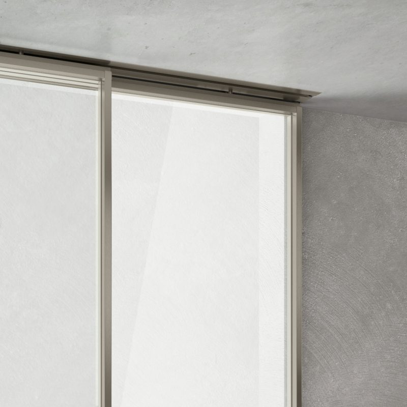 Manhattan external wall sliding door Inside system