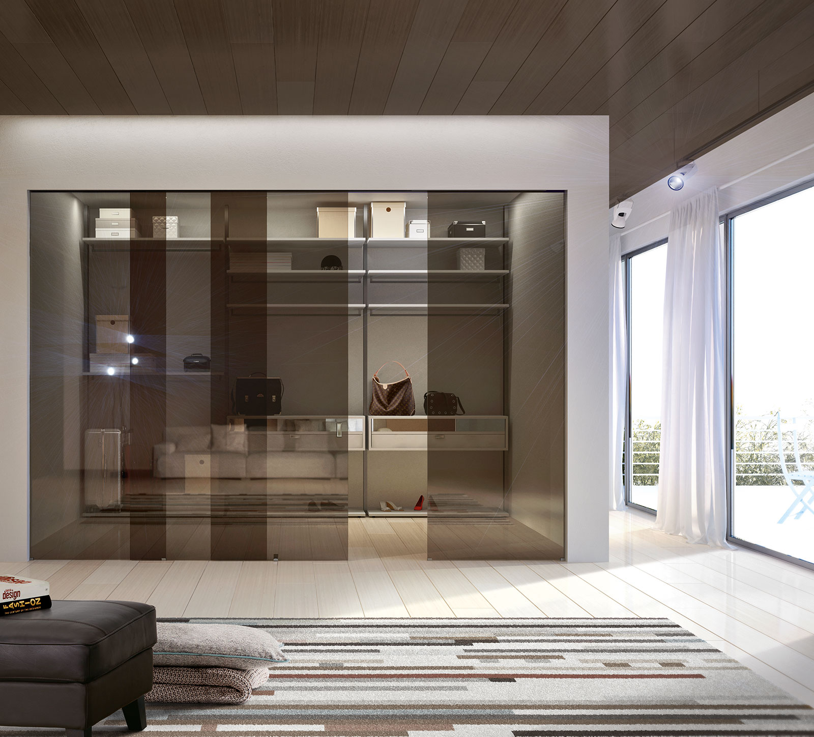Besam sl500 all glass sliding door system with semi transparent option - External Wall Sliding Doors Bronze Clear Reflective Glass Inside Sliding System